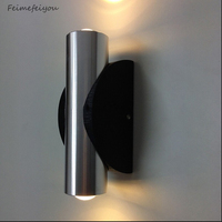 Feimefeiyou HOT High Quality Indoor 2W LED Wall Lamp AC110V 220V Material Aluminum Sconce Bedroom Decorate