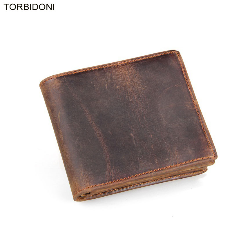 Men Wallets Money Clip Genuine Leather Short Purse Small Vintage Wallet Mens Carteira Masculina Photo Pocket Card ID Wallets aequeen genuine leather wallet mens short purse cowhide wallets credit card holders money pouch organizer bank id cards carteria