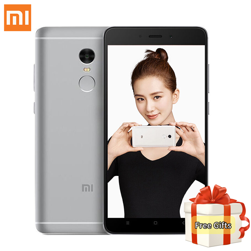 Original Xiaomi Redmi Note 4 Mobile Phone MTK Helio X20 Deca Core 3GB RAM 32GB ROM