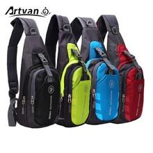 Unisex Nylon Chest Back Pack Crossbody Shoulder Bag (6 colors)