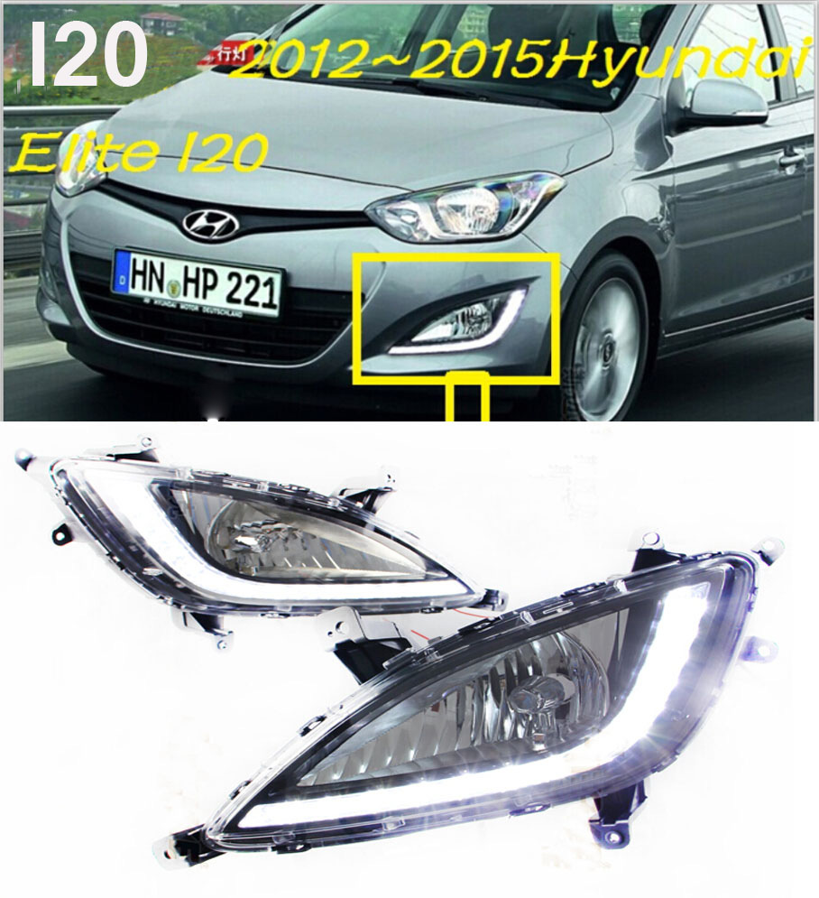 2012~2016 i20 daytime light,tucson,santa fe,Elantra,Free ship to your door!accent,LED,i20 fog light,2ps/set;solaris;ix35 i20