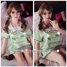 WMDOLL 153cm Realistic Silicone Sex Robot Dolls Lifelike Love Adult Doll Sexy Breast For Men Sexual Toy