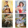 Fashion Woman Painting 5D Diy Diamond Mosaic Diamond Painting Cross Stitch Full Square Diamond Embroidery Home