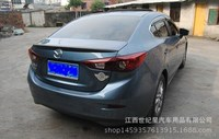 Fit for mazda axela m3 m6 ABS rear spoiler rear wing with customize DIY color spoiler No paint spoiler