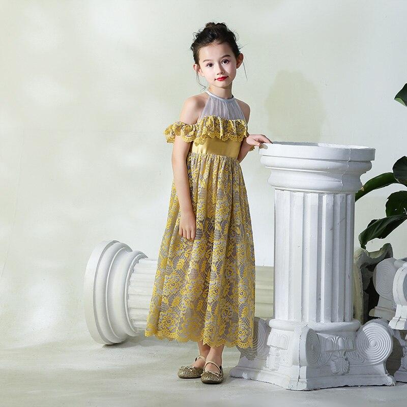 Mère Fille Robes pour Banquet Partie de Soirée Formelle Porter La Famille Des Vêtements Correspondant Princesse Maman et Fille Tenues Sœur - 6