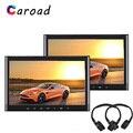 4000039614152 - Caroad reproductor de DVD soporte para coche HDMI USB SD IR/FM Transmisor juego de altavoz pantalla táctil de 10,1 pulgadas para coche monitor de reposacabezas