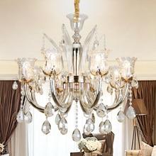 Luxury Chandelier Lighting Fixture For Living room Bedroom lustres para quarto Wedding Hotel Decorate Large LED Light