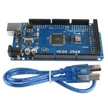 Mega 2560 R3 Mcu Development Board Electronic Building Blocks Send Usb Cable Atmega16U2-Mu