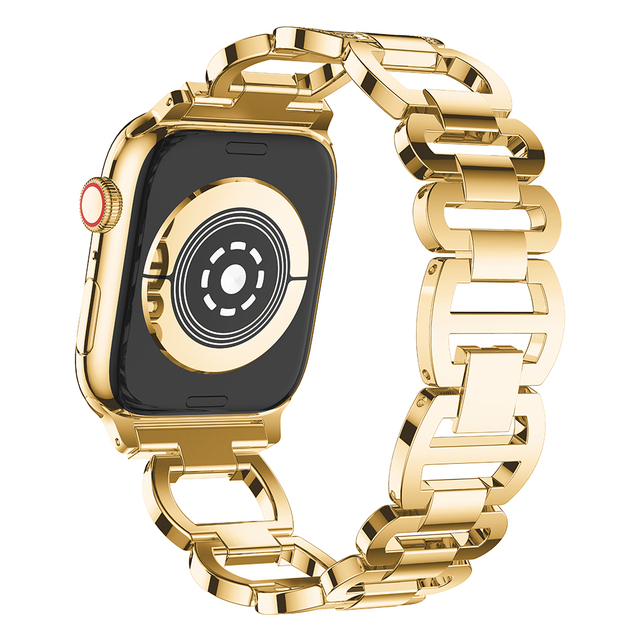Stainless Steel Strap for Apple Watch Band Rhinestone Diamond Band 38mm 42mm Series 3 2 1 for Apple Watch 40mm 44mm Series 4 2