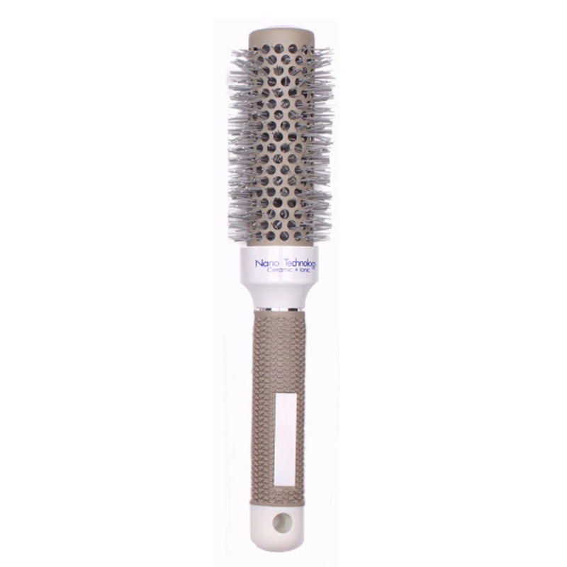 5 Sizes Hair Brush Ceramic Iron Round Comb Barber Dressing Salon Styling (escova de cabelo peine de volumen Volume peigne) 4