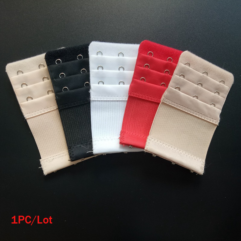 3 Row Bra Extender 3 Hook Bra Clasp Strap Extension Soft Bra Strap Extensions Women Underwear Belt Adding Intimates Replacement