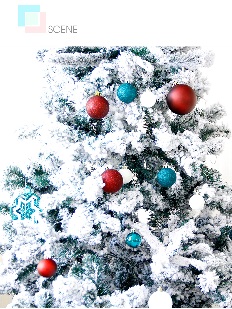 Us 29 58 11 11 Sales Christmas Decoration Ball Ornaments Pendant Accessories Red Green Gold Bauble Balls Decor For Christmas Home Party In Ball