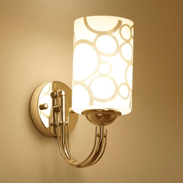 Éclairage De E27 Bronze Luminaria Hghomeart Mur Moderne Flexible Applique Chevet Led Lampes Murales Lampe Chambre Coucher Murale En À L5jqA34cR