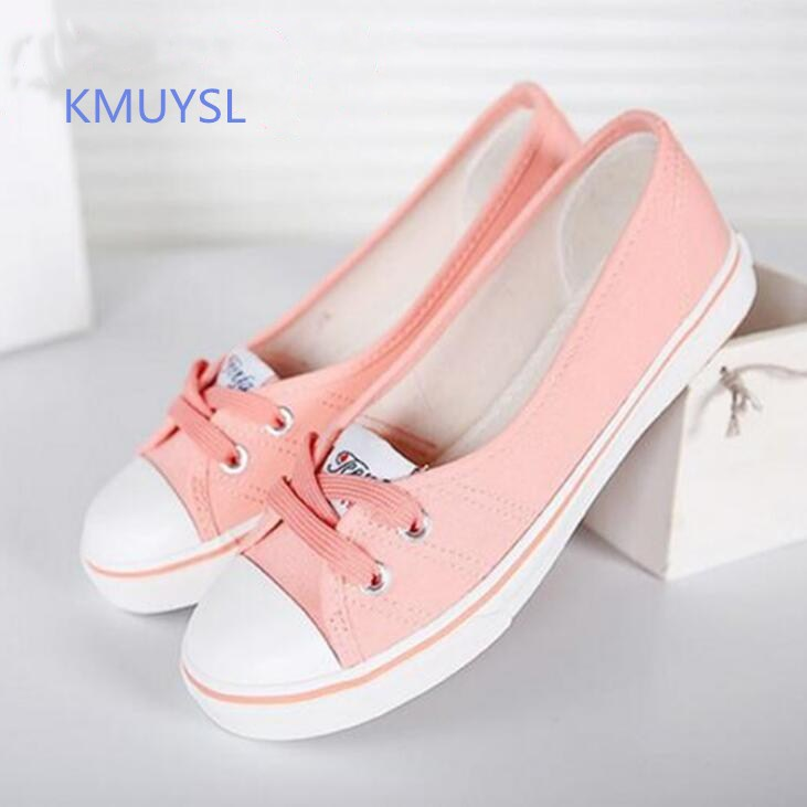 KMUYSL Women Shoes Ballet Flats Loafers Casual Breathable Women Flats Slip On Fashion 2016 Canvas Flats Shoes vintage embroidery women flats chinese floral canvas embroidered shoes national old beijing cloth single dance soft flats