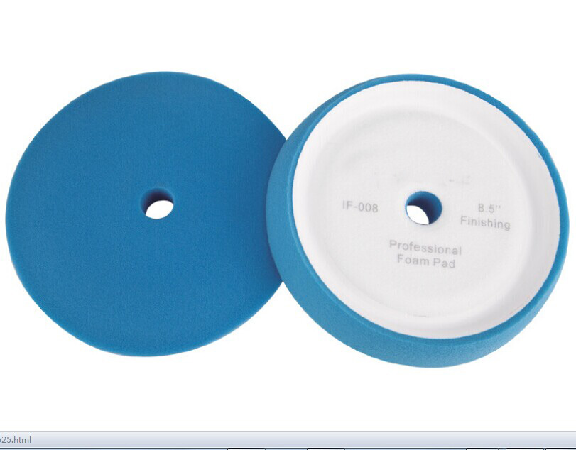 cor azul 8 5 concave car lustrando pad polimento pad carro almofada de espuma de acabamento