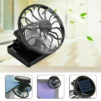 DSstyles 2019 New Fashion Gadget Clip-on Hat Mini Clip Solar Sun Energy Power Panel Cell Cooling Usb Fan Cooler Mini Fan Free Shipping