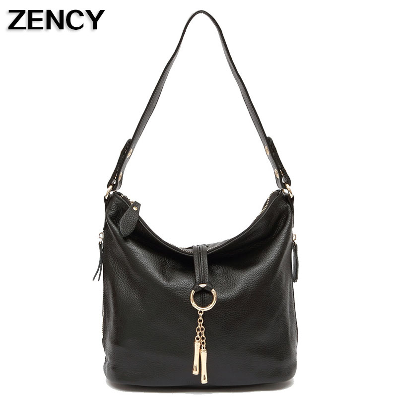 ZENCY Genuine Cow Leather Small Women Des