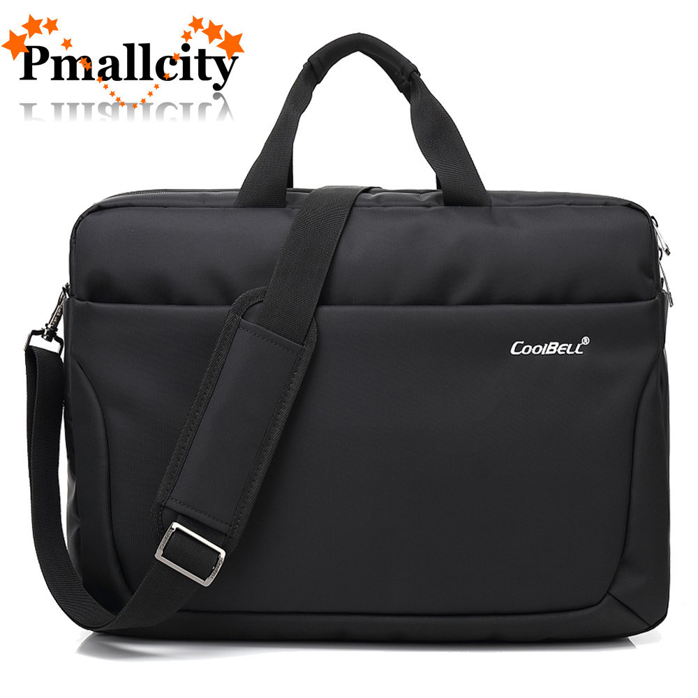 17.3 17 inch Waterproof Laptop bag Nylon Business Work Office Bag shoulder handbag computer bag Messenger Women men Notebook bag все цены