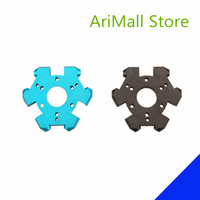 1pc Kossel metal effector for DIY 3d printer all metal effector for delta 16 holes aluminum alloy colorful