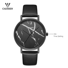 C2018 CADISEN Newest creative design watches mineral fashion quartz lady watch casual gifts