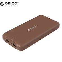 ORICO D20000 мобильный Мобильные аккумуляторы 20000 мАч scharge полимера Мобильные аккумуляторы Мощность Портативный внешний аккумулятор Micro USB для мобильного телефона