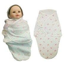 Newborn Baby Swaddle organic 100% cotton soft comfortable infant thin wrap parisarc swaddling New born Sleepsack Babys Blanket