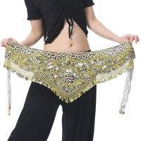 480 Coin Leopard Belly Dance Belly Dance Waist Waist Chain Belt Belt Yaolian Section Of The