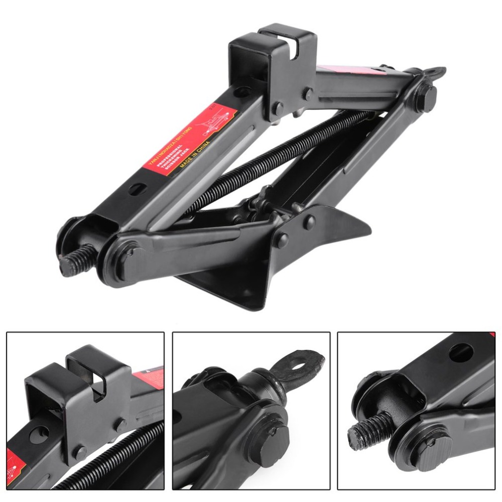 Professional 2 Ton Manual Car Jack Heavy Duty Horizontal