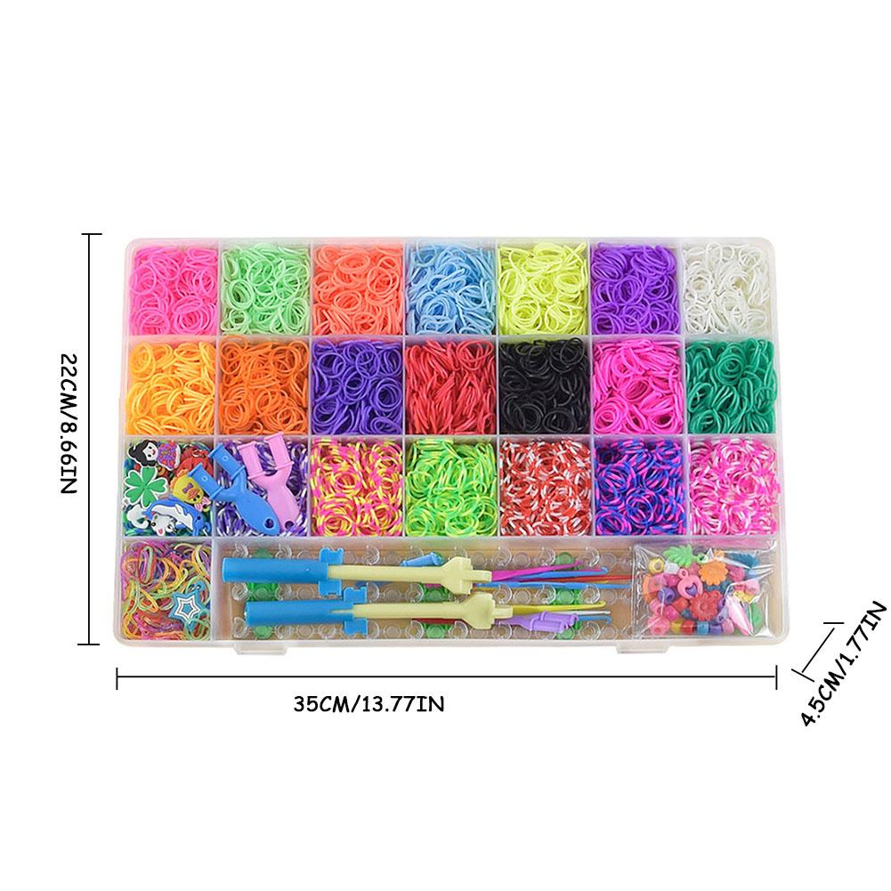 HAND MAKING DIY CRAFT BOARD RUBBER BANDS BRACELET MAKING KITTWISTZ FOR LOOM
