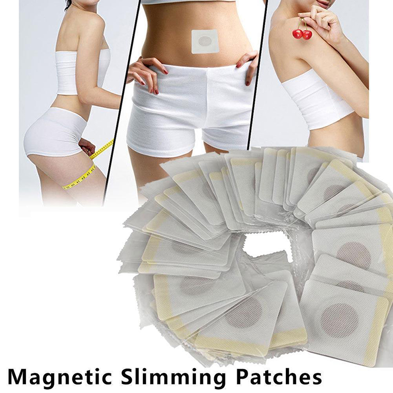 40pcs Women Magnetic Slim Slimming Patch Diet Weight Loss Detox Adhesive Pads Beauty Health Kit Beauty Accessories