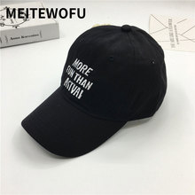 купить New fashion Cotton baseball cap Men'S Snapback Hats Spring Summer Hat For Men Women Caps High quality Hat Embroidery letter Cap дешево