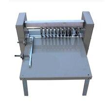 Réglable vitesse, sensible à la pression marqueur, refendage machine, électrique machine indentation, ligne de coupe machine ligne