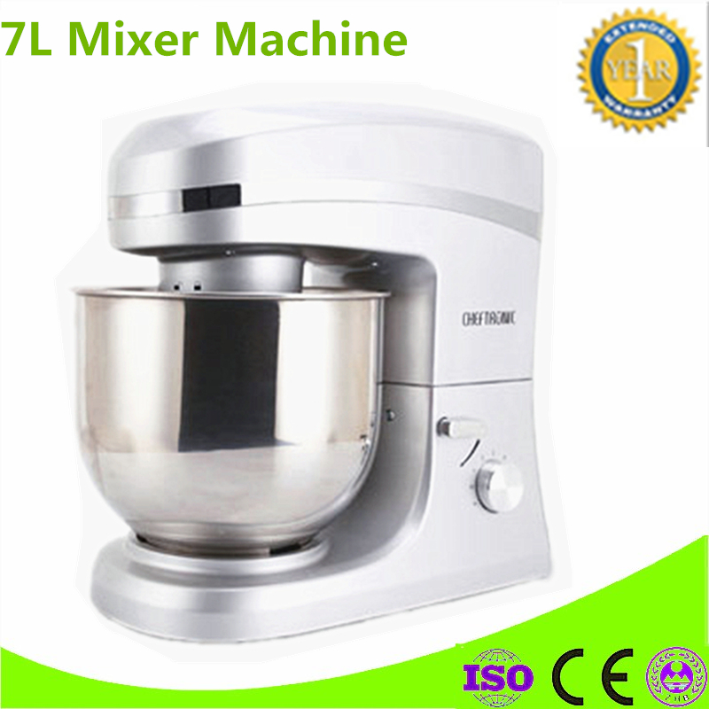 Commercial 7L Food Mixer Blender Multifunctional Household Automatic Stirring Egg Machine Kneading Bread Maker
