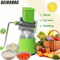 New Manual Vegetable Cutter Food Chopper Mandoline Slicer Potato Spiral Cutter Vegetable Spiralizer Grater Kitchen Tools Gadgets