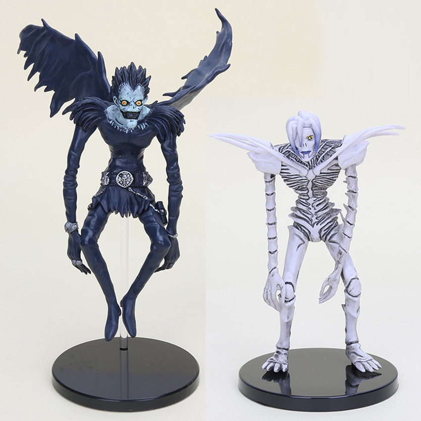 10pcs lot Anime Death Note Deathnote Ryuuku PVC Action Figure Collection Model Toy Dolls 7 18cm