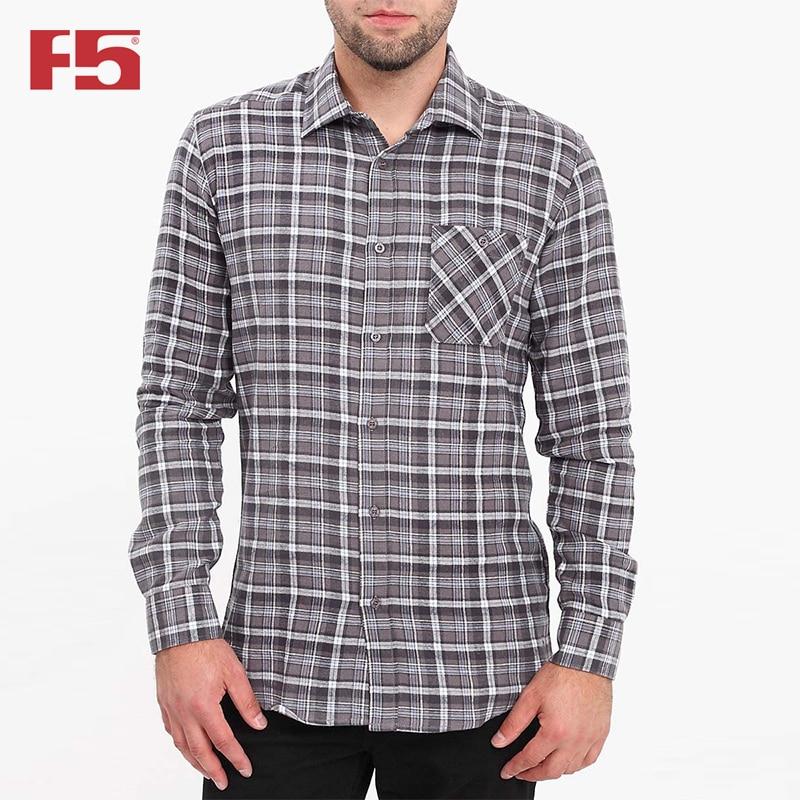 Men shirt F5 284001 men plaid detail shirt