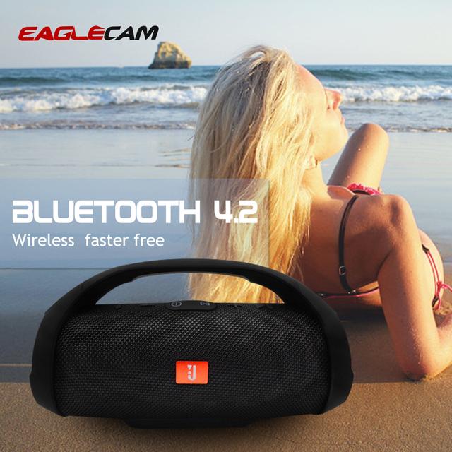 Bezprzewodowy głośnik bluetooth Stereo przenośne Boom Box sportowe otwarte bas kolumna Subwoofer głośnik z radiem FM TF Mp3 odtwarzacz