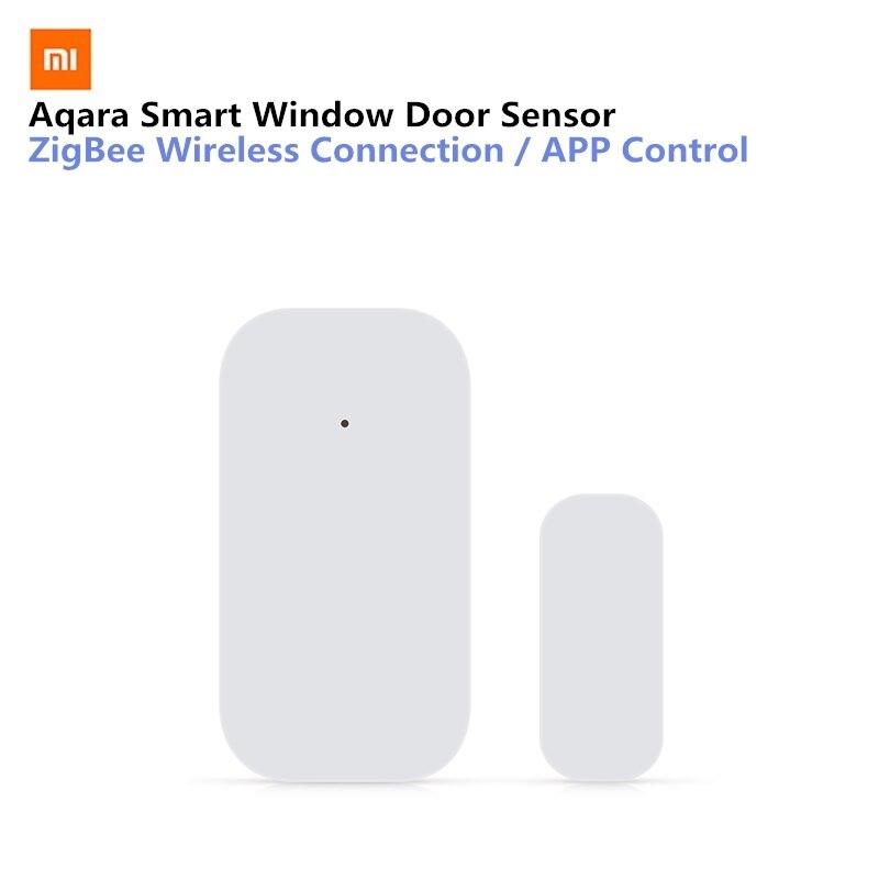 Xiaomi Aqara Smart Fenêtre Porte Capteur Mis Intelligente Capteur Équipement De Sécurité à Domicile Avec ZigBee Sans Fil Connexion