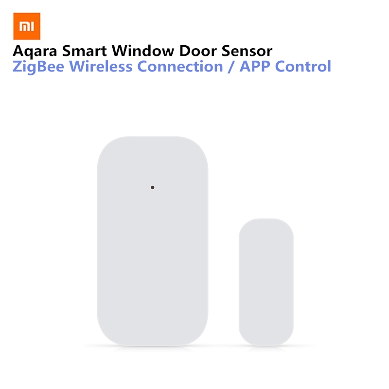 цена на Xiaomi Aqara Smart Window Door Sensor Set Intelligent Sensor Home Security Equipment With ZigBee Wireless Connection