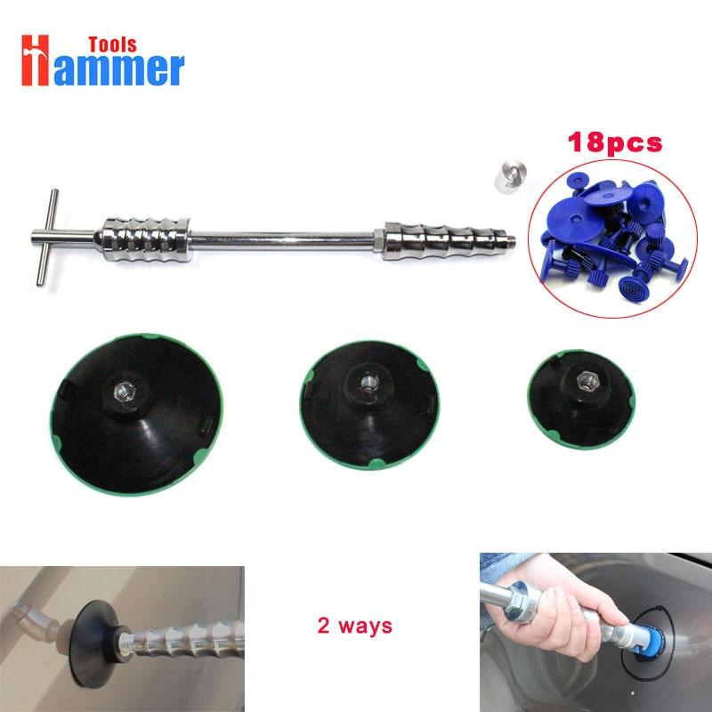 dent puller slide hammer vacuum cup pdr hammer car body paintless dent repair auto dent pulling dent pulling bits straight