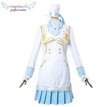 f03a676b0c9fa8 Lovelive Tsushima Yoshiko Alice Ménage Robe Cosplay Costumes en Scène  Performence Vêtements, Personnalisé parfait pour