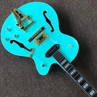 Фабричная китайская фабрика полуакустическая Дека grech Falcon 6120 Jazz электрическая гитара с Bigsby Tremolo.