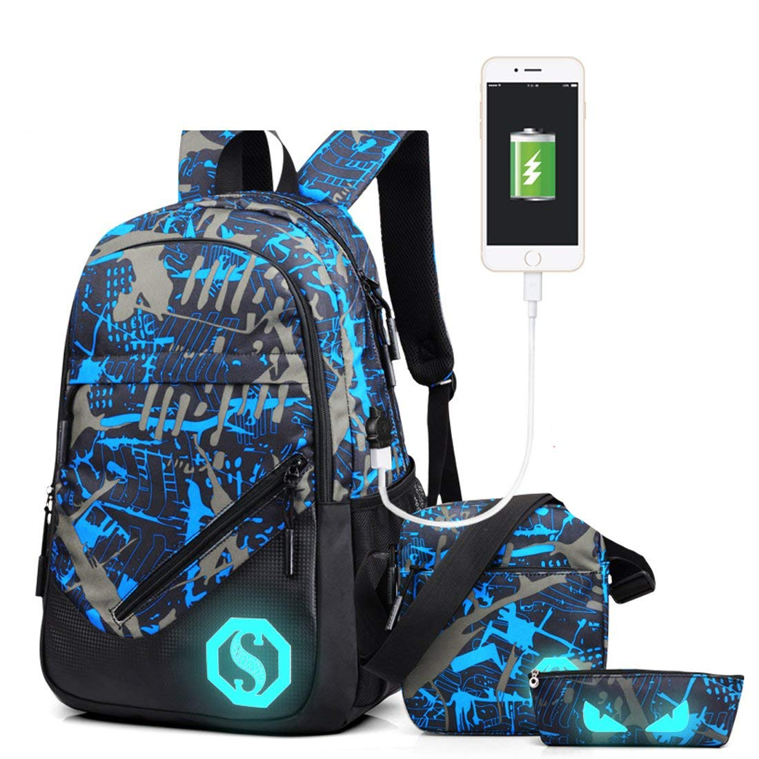 Casual, For, Backpack, Daypack, Teenage, Pencil