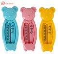 Novo 3 cores de alta qualidade de segurança útil Flutuante Bonito Do Urso Do Bebê Brinquedo Do Banho Do Bebê Banheira Água Sensor Termômetro de Água Flutuador