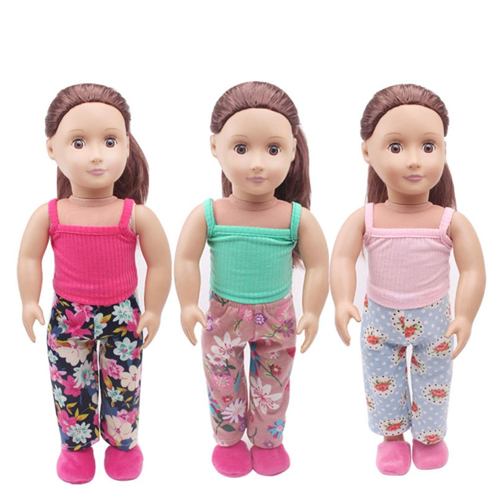 Clothes&Pants For 18 inch Our Generation American Girl & Boy Dolls Logan Doll the United S