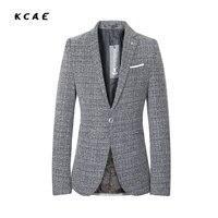 Modelos de primavera y verano de los hombres trajes casual coreano británico Delgado pequeño traje marea ropa de los hombres tamaño grande sin forro tamaño 4XL 5XL