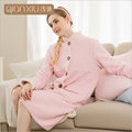Women 's thick bathrobes shallow winter new ladies thick cashmere bathrobes fashion home service