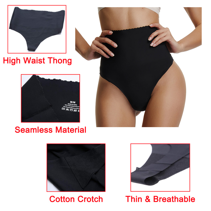 8c9f9478704e Sexy Lingerie Women Shapewear Seamless Panties High Waist Thong Tummy Control  Slimming Body Shaper Butt Curve Enhancer-in Control Panties from Underwear  ...
