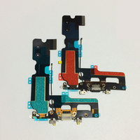 Original New Charging Port USB Charger Dock Connector With Microphone Antenna Flex Cable For IPhone 7