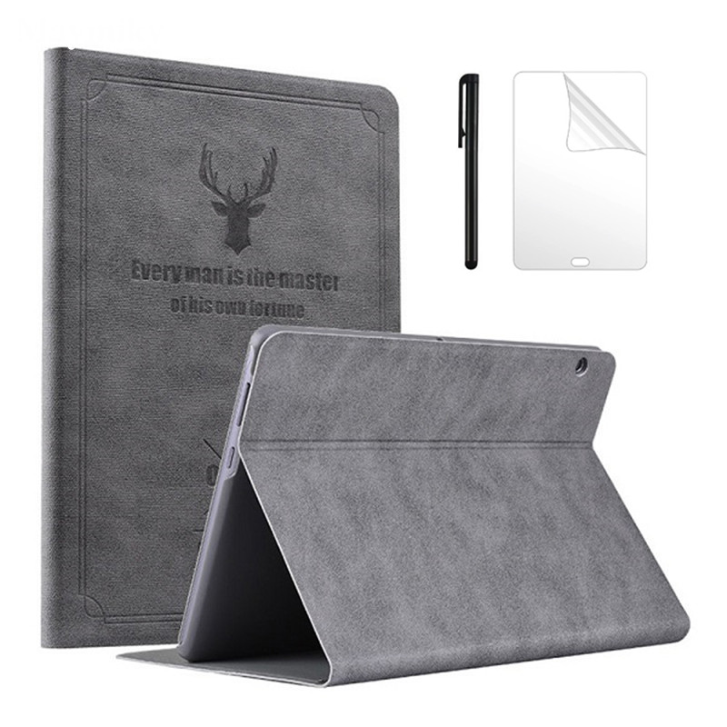 Leder Stand Fall Für Huawei Mediapad T5 10 Ags2-l09 Ags2-l03 Ags2-w09 Ags2-w19 10,1 tablet Pc Schutzhülle Stift Mild And Mellow Film